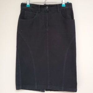 Alexander McQueen Black Pencil Skirt 40 4 Small